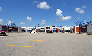 3 units available for lease at commercial/industrial strip mall
