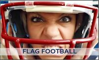 Play Co-ed, For-Fun Adult Turf Flag Football this Winter!