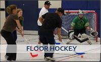 Play Co-ed, For Fun, Adult Floor Hockey with FCSSC!