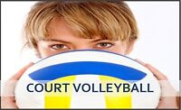 Play For-Fun, Adult Recreational Court Volleyball this Winter!