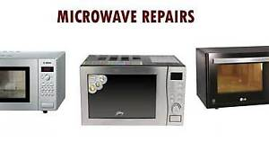Professional microwave oven repairs