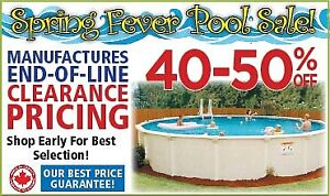 SRING FEVER POOL SALE - LIMITED TIME ONLY!