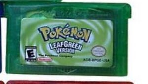 Pokemon LeafGreen and Ruby