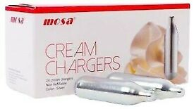 Cream Chargers **£12.5 PER BOX 24** Food use only !! SHOREDITCH & EAST LONDON