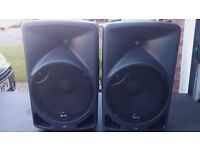 Pair of Alto TX15 Active PA Speakers