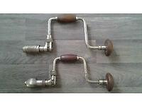 Vintage Ratchet Brace Drills (2).
