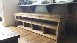 Custom Made Rustic Furniture (Toddler Tables, Benches, Etc) Strathcona County Edmonton Area image 7