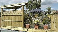 Entretien ,Réparations de patio et clôtures en bois traité