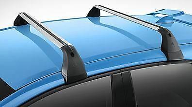 Removable Cross (Genuine Toyota 2019 Corolla Hatchback Removable Roof Rack Cross Bars)