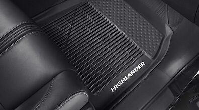 Toyota Highlander 3PC OEM All Weather Floor Liners Mats PT908-48165-02