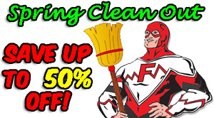 The Spring Clean Out is on NOW at Flaman Fitness Cranbrook!
