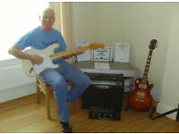 Professional guitar tuition/teacher lessons at affordable prices. First lesson free