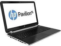 "HP PAVILION 15 15.6"" AMD A8 4555M Laptop 8GB RAM 1TB WinDOWS 10 GRADED"