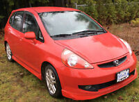 2007 Honda Fit DX Hatchback Auto with A/C