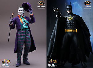 DX09 Batman & DX08 Joker 1989 Hot Toys figure As a set only!
