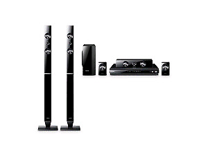 Samsung 3D Blueray player and surround sound system