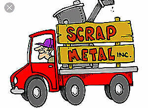 Free scrap metal removal and pick up service