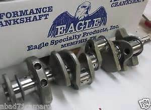 "SB CHEV 383 ""STROKER"" Hi-PERF Cast/STEEL  CRANKSHAFT--EAGLE--NEW"