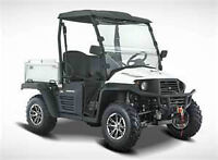 UTV SIDE BY SIDE HiSUN/NORDIK U400xi EFI $7277 NEW! Wow! 4WD