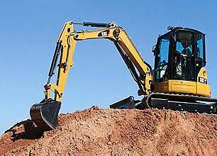 5T cat excavtor dry hire $220 a day $1500 a week free delivery