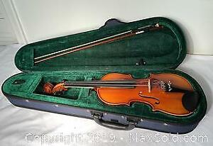 Junior Violin. Come to pickup at Category A