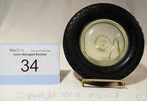 GOODYEAR BALLOON Vintage RUBBER TIRE promotional ASHTRAY.