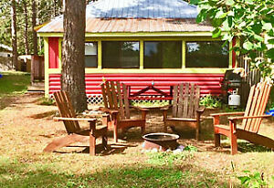 FABULOUS RED LAKEFRONT COTTAGE!!!! DON'T MISS OUT!!