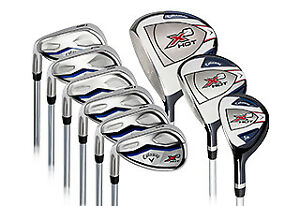 Golf Clubs, varying brands and types