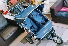 Instep Double Stroller - Nipper - 360