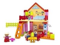 LEGO VILLE PLAYHOUSE, PLUS SOME PIECES- 4689