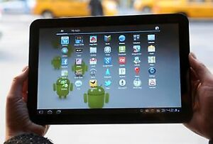 "10"" Inch Motorola Google Tablet With 32 GB Memory And Charger!"