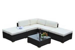ASSEMBELED NEW Outdoor PE Rattan Wicker Sofa Lounge YFF FURNITURE Auburn Auburn Area Preview