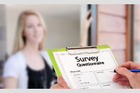Easy Door To Door Surveys ($3.00/per)
