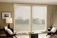 WE WILL PURCHASE AND INSTALL YOUR BLINDS