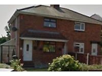 Let agreed! No longer available-Semi detached, 2 bed house for rent with drive