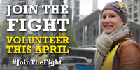 Volunteer with the Canadian Cancer Society's Daffodil Month!