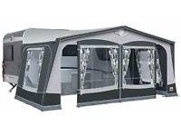 Dorema Garda 240 De Luxe Size 9 Caravan Awning - Carbon Poles - Starlon Matting