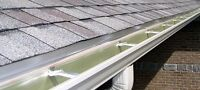EAVESTROUGHS. INSTALL, REPAIR AND CLEANING
