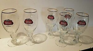 Stella Artois Chalice 50cl glasses- sets of 6 unopened in box