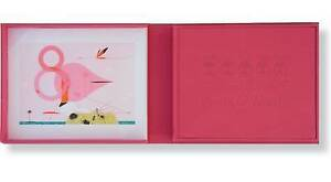 Charles Harper's Birds & Words Ltd Edition W Flamingo Print by Charley Harper