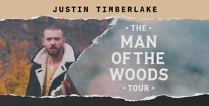 2 Tickets to Justin Timberlake Vancouver Concert-Nov8-Sec107
