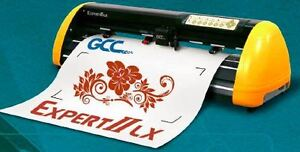"GCC LX II 24"" VINYL CUTTER optical eye Automatic contour PC/MAC"