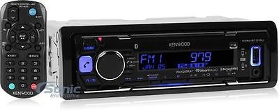 Kenwood KMM-BT315U Single DIN Bluetooth Digital Media Car Stereo Receiver