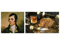 BURNS NIGHT AT JAKE'S PLACE IN EDINBURGH