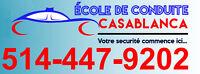 COURS DE CONDUITE PRATIQUE + LA LOCATION D'AUTO D'EXAMEN SAAQ