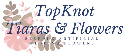 Topknot Wedding Flowers