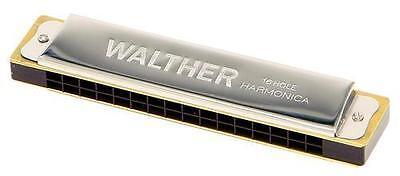 Mundharmonika Walther - C-Dur mit 32 Stimmen - Tremolo Modell *NEU*