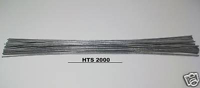 20 Pc - 9 Aluminum Repair Rods Hts-2000 Brazing Low Temp Fluxless W Instructns