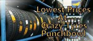 16 inch Second Hand Used Tyre From $30 Each @ Crazy Tyres Parramatta Parramatta Area Preview