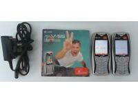 PAIR OF RETRO MOBILE PHONES - Sagem My MyV-55 (Vodafone)